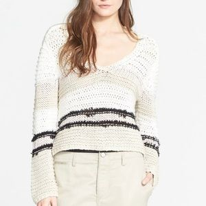 Rag & Bone Crochet Sweater